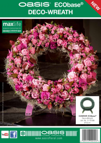 Flyer OASIS® ECObase® Deco-Wreath
